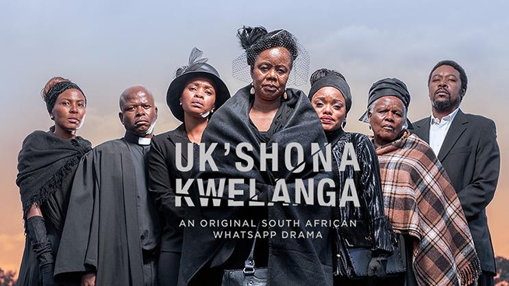 Série sul africana distribuída pelo WhatsaApp